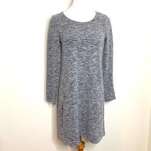 GAP Heather Black/Grey Dress